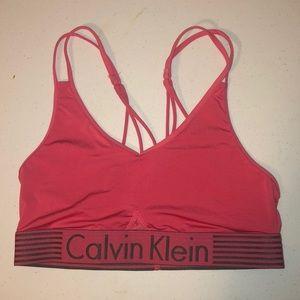 Calvin Klein sports bra!